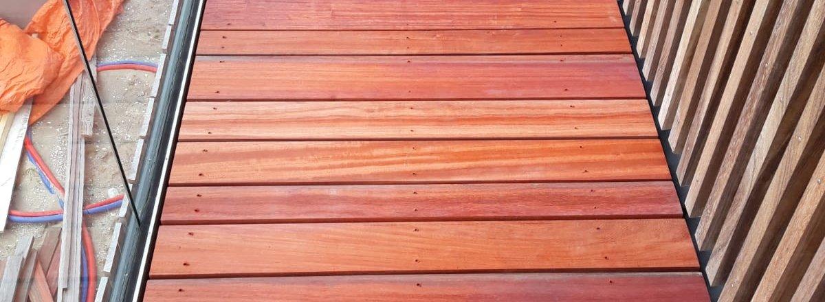 Padoek hout vlonderplank